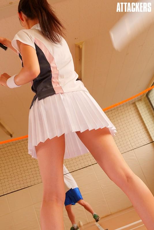 バドミントン部顧問教師 スコート越しの凌辱 夏目彩春 キャプチャー画像 12枚目