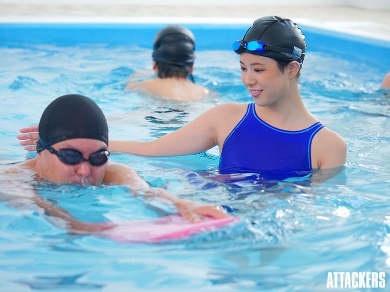 孕ませられた教育実習生 濡れた競泳水着 二宮ひかり