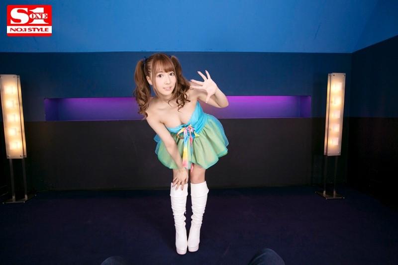 【VR】VR×S1 国民的アイドル三上悠亜がヴァーチャルリアル空間であなただけにフェラチオしてあげる 画像10