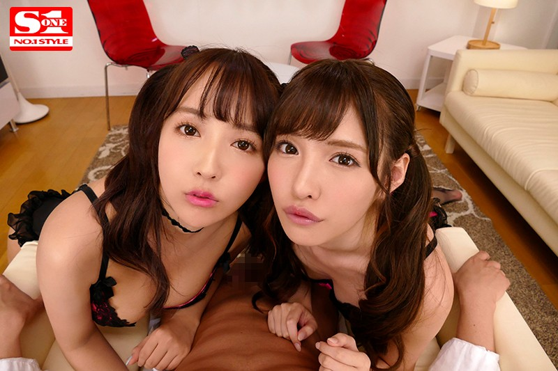 【VR】エスワン15周年スペシャル共演 日本一のAV女優2人と超豪華ハーレム逆3P体験のサンプル画像
