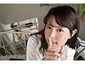 【VR】彼女がいるのに密着ささやき淫語で口説いてくる色気ム...sample11