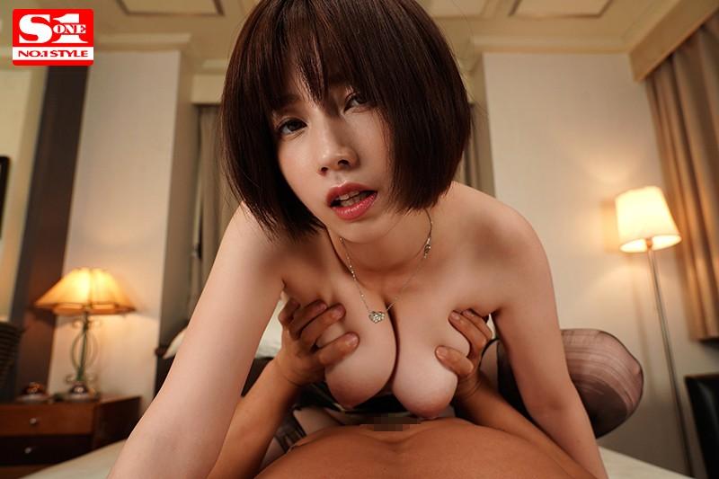 【VR】女上司と相部屋VR 無防備な上司の姿に性欲のタガが外れて一晩中ヤリまくった一部始終 奥田咲 画像12