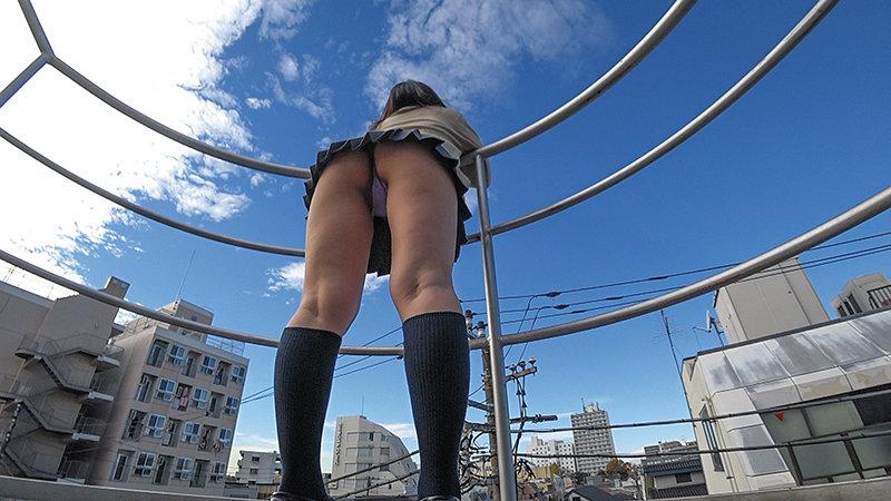 KAIDAN10 超ミニスカ女子校生階段パンチラ