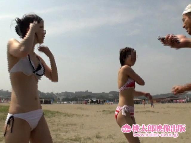 【水着】素人ナンパHunters 灼熱のビーチ・ビキニ編46人 キャプチャー画像 18枚目