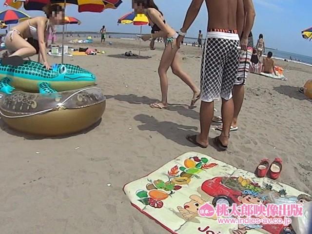 【水着】素人ナンパHunters 灼熱のビーチ・ビキニ編46人 キャプチャー画像 7枚目