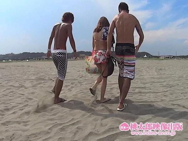 【水着】素人ナンパHunters 灼熱のビーチ・ビキニ編46人 キャプチャー画像 8枚目