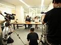 犯された新人アナウンサー 凌辱の報道ステージ 瑠川リナ-エロ画像-1枚目