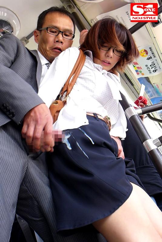 【羞恥】 痴漢願望の女 上京したての田舎娘編 成海うるみ キャプチャー画像 1枚目