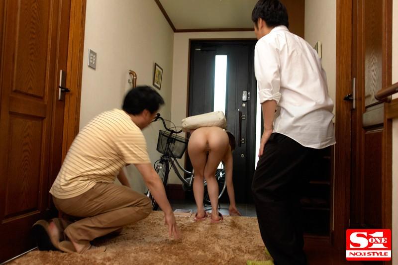 全裸の巨乳家庭教師 奥田咲|無料エロ画像1