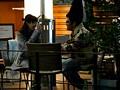 盗撮リアルドキュメント!密着120日、小島みなみのプライベートを激撮し、行きつけのカフェで知り合ったイケメンナンパ師に引っ掛かって、SEXまでしちゃった一部始終-エロ画像-2枚目