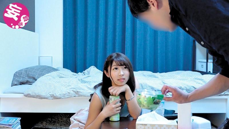 【エロ動画】黒髪でエロい巨乳のお姉さん素人の、イチャラブお持ち帰りのぞきプレイエロ動画!いい乳してます!