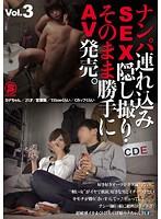 ナンパ連れ込みSEX隠し撮り・そのまま勝手にAV発売。Vol.3 ダウンロード