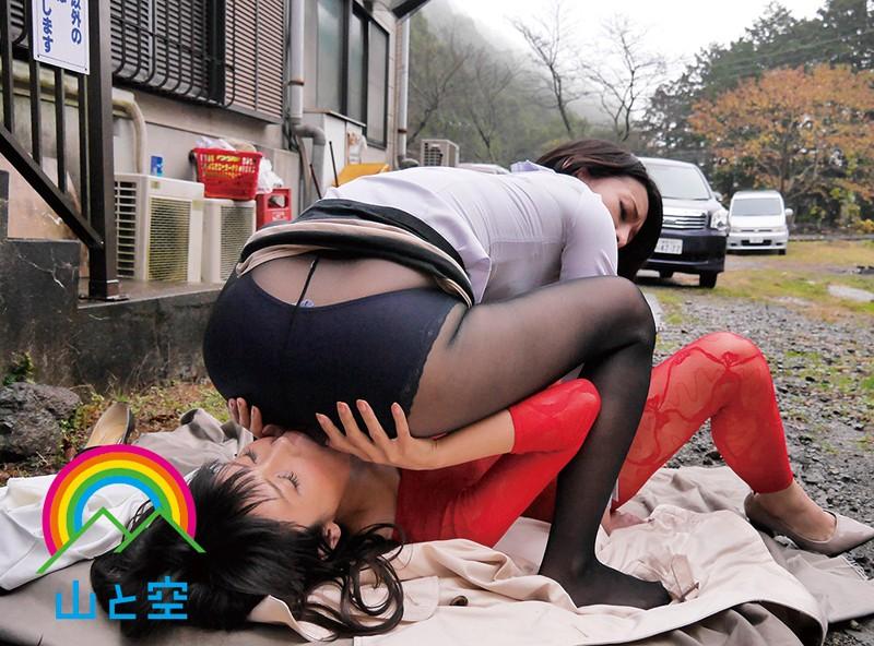 露出調教聖水レズビアン 堀内秋美×北島玲×池上桜子 画像5