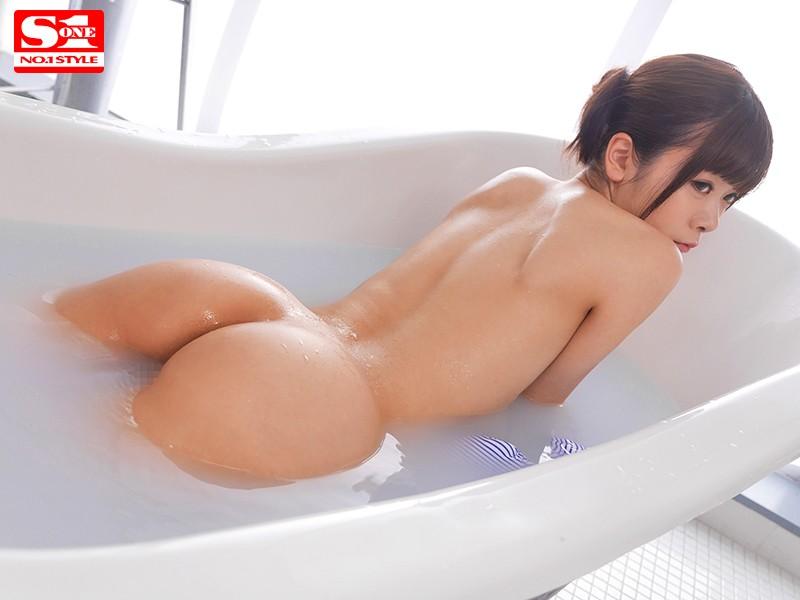 新人NO.1STYLE 奇跡のスレンダー女神BODY 現役グラドル水原乃亜AVデビュー の画像9