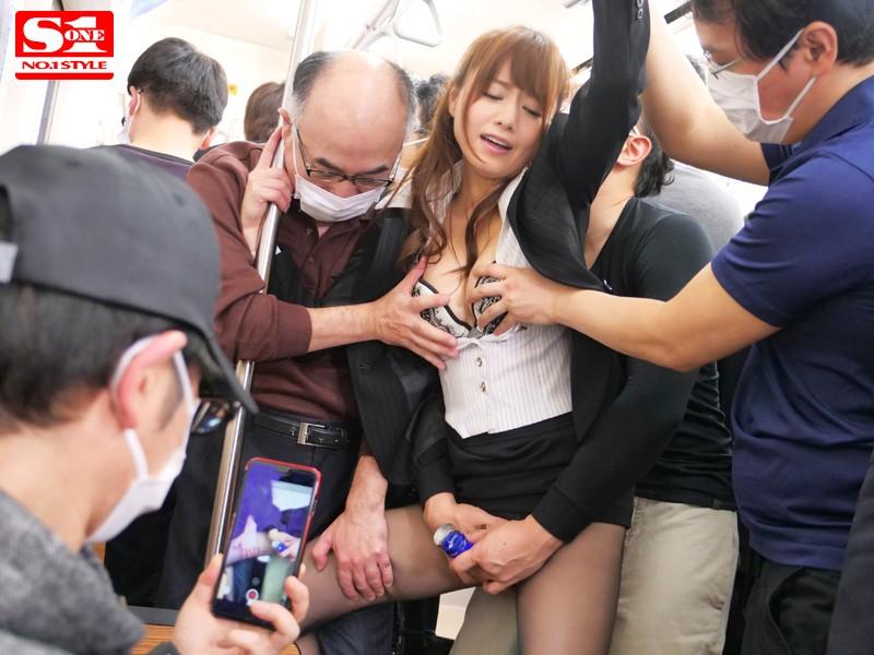鬼畜集団に狙われた痴漢囮捜査官アキホ 吉沢明歩のサンプル画像