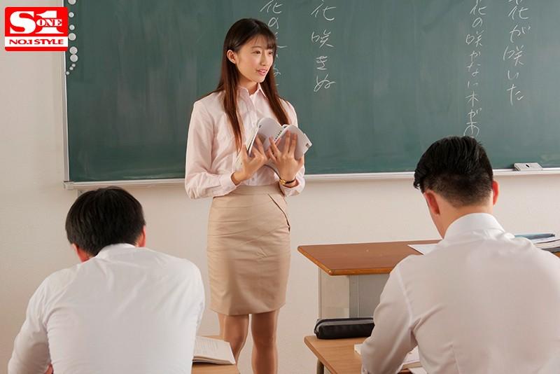 「高嶺の花を生徒全員で犯す」輪姦レ●プされた新任女教師 星宮一花 の画像10