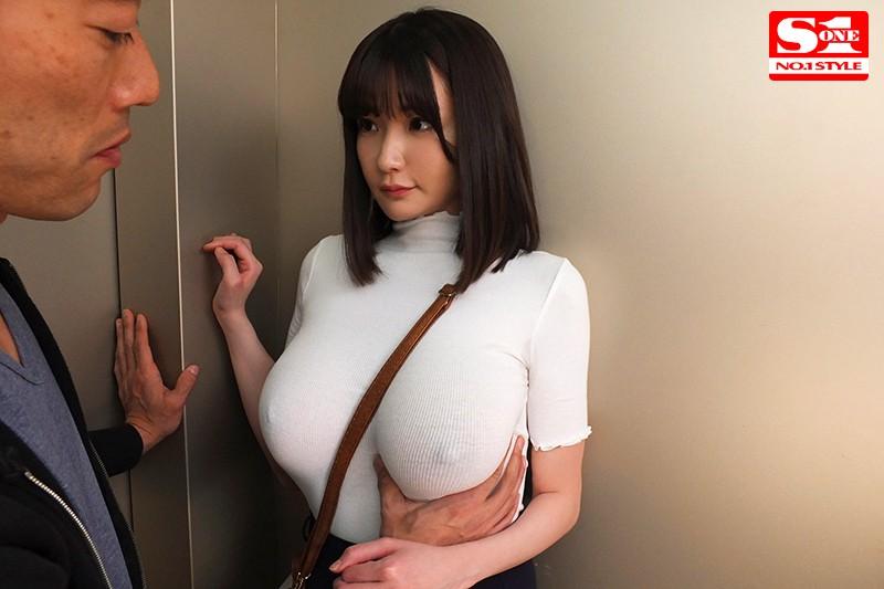 常にノーブラ透けおっぱいで誘惑する【完全着衣】Jカップお姉さん 筧ジュン の画像10