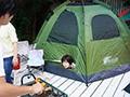 [SSNI-69] ネトラレテント ~旦那が肉を焼いている14分間にテントの中で寝取られ続ける巨乳妻~ 奥田咲