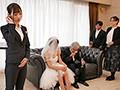 結婚式直前から式の終りまで…新婦の目を盗んで新郎を誘い寝取る美人ウエディングプランナー 天使もえ