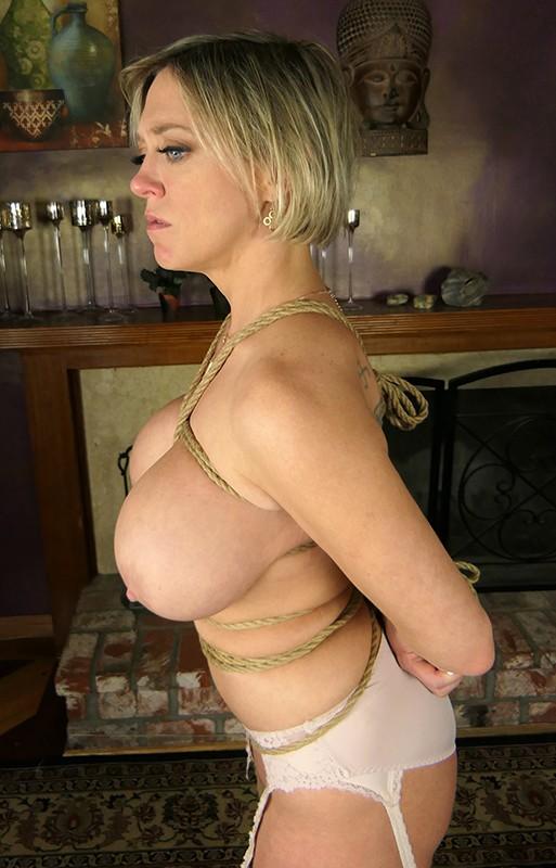 「監禁」金髪人妻緊縛強姦3 爆乳主婦拘束 媚薬拷問レイプ の画像10