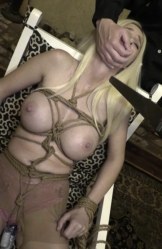 「監禁」金髪人妻緊縛強●4 爆乳主婦拘束 媚薬拷問レ●プ 3