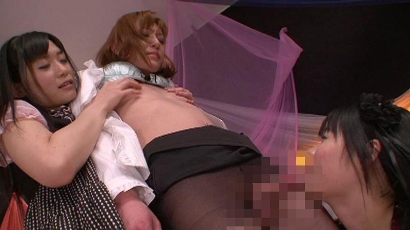 女に無理やり感じさせられて射精までしてしまうニューハーフ8時間 2 画像19