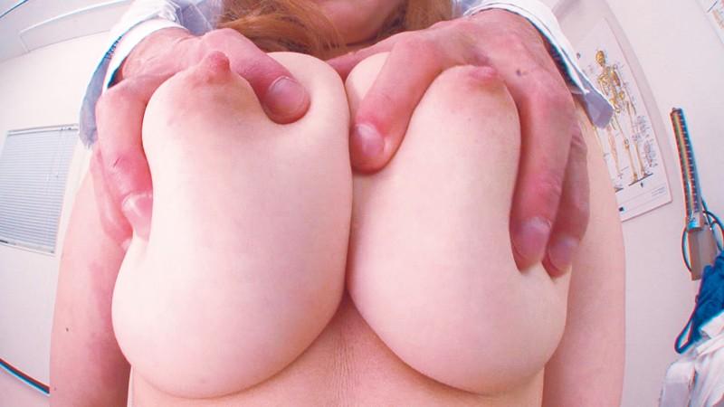 デカチチはエロい!仁科桃華の巨乳がセクハラ診療されハメられる瞬間を見逃すな! パッケージ
