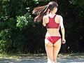 乳M女子陸上選手 速水さくら