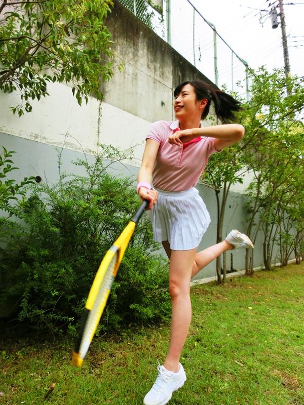 妊娠テニスガール 華村ちほ キャプチャー画像 15枚目