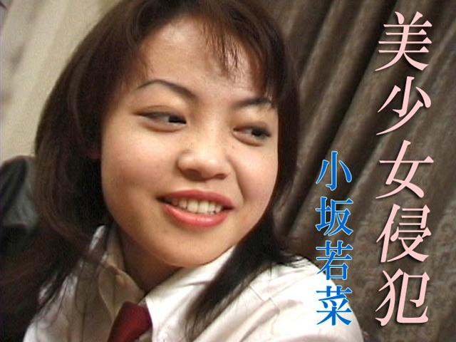 美少女侵犯 小坂若菜 パッケージ