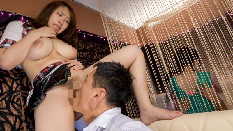 おっぱいで超誘惑してくる新人セクキャバ嬢 女子校生Ver. 香坂紗梨 4枚目