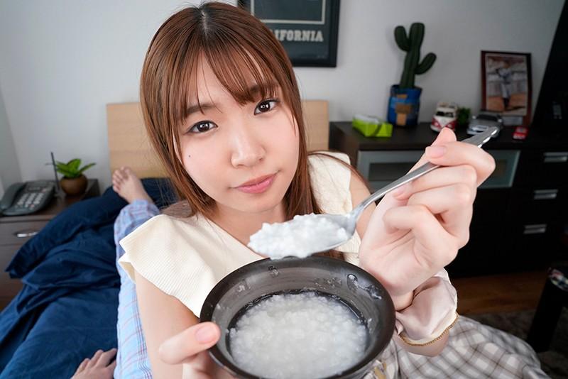 【VR】熱を出した日、彼女が献身的に看病してくれる 樋口みつは 6枚目