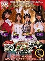 【VR】巨乳バニーガール裏カジノ