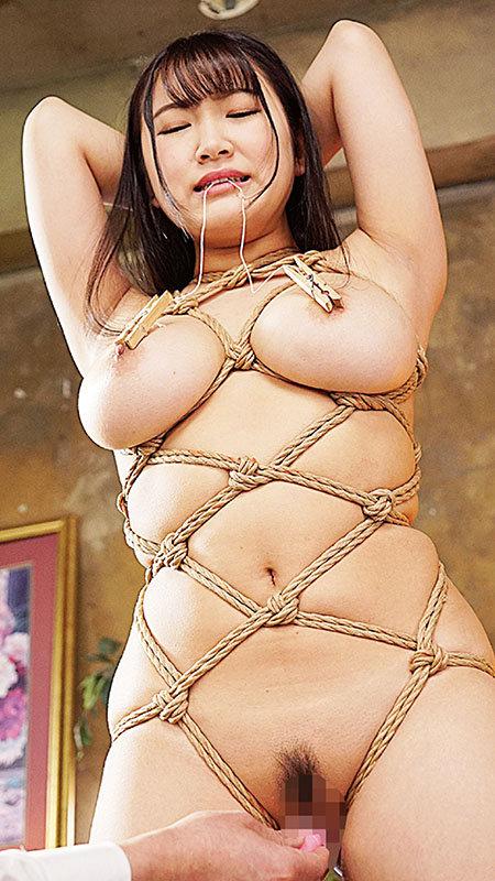 制服緊縛 緊縛お仕置きを欲しがる美爆乳と性癖…。 姫咲はな キャプチャー画像 4枚目