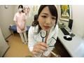 【VR】近所で噂の美人女医さんにED(勃起不全)と嘘ついて診...sample2