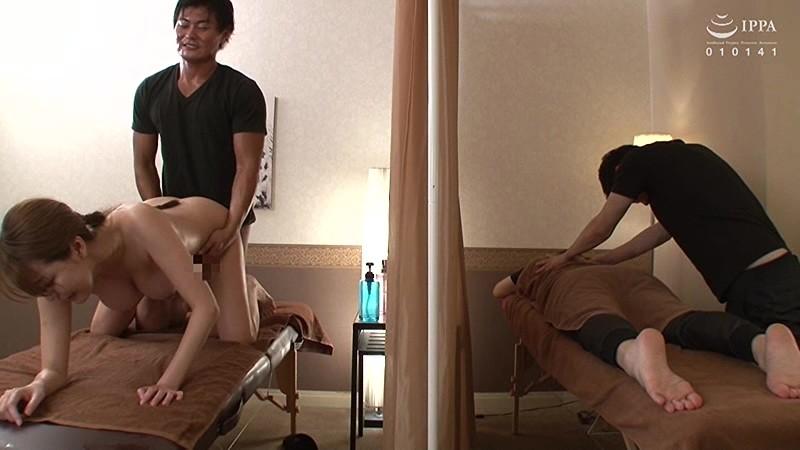 夫の前でマッサージ師に絶頂(いか)された妻 朝桐光 8枚目