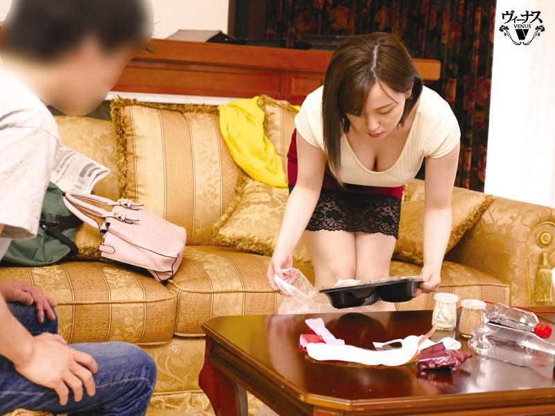 突然押しかけてきた嫁の姉さんに抜かれっぱなしの1泊2日 田中ねね 画像1