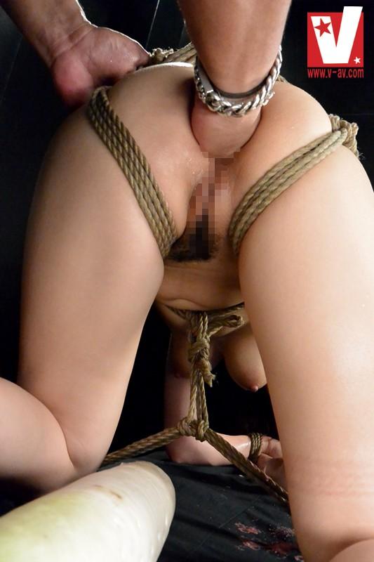 【SM】 MEGA ANAL ~アナルフィストで肛門が恥ずかしいほど開いちゃう~ 沙藤ユリ キャプチャー画像 7枚目
