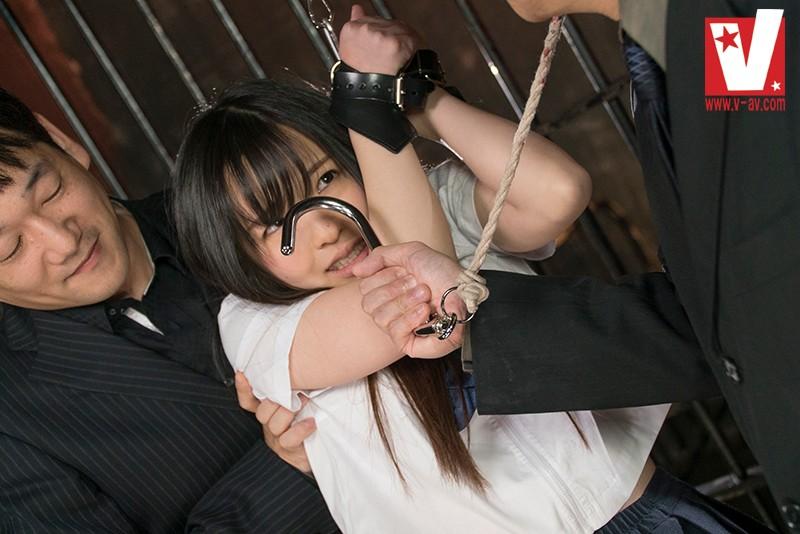 制服パイパン美少女 引き裂きアナル拷姦 宮沢ゆかり 10枚目