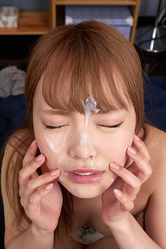 【VR】美貌の女性を汚しまくり優越感に浸れ!!白濁まみれの顔射VR 画像5