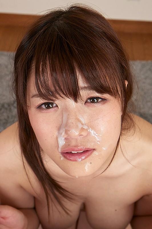 【VR】美貌の女性を汚しまくり優越感に浸れ!!白濁まみれの顔射VR6
