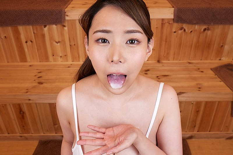 【VR】摂氏100℃ 汗だく密室性交 爆乳サウナレディ 吉根ゆりあ 画像6