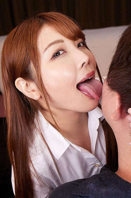 【VR】敬語淫語×唾液口移し&顔舐めVR-言葉と唾液、Wの衝撃-