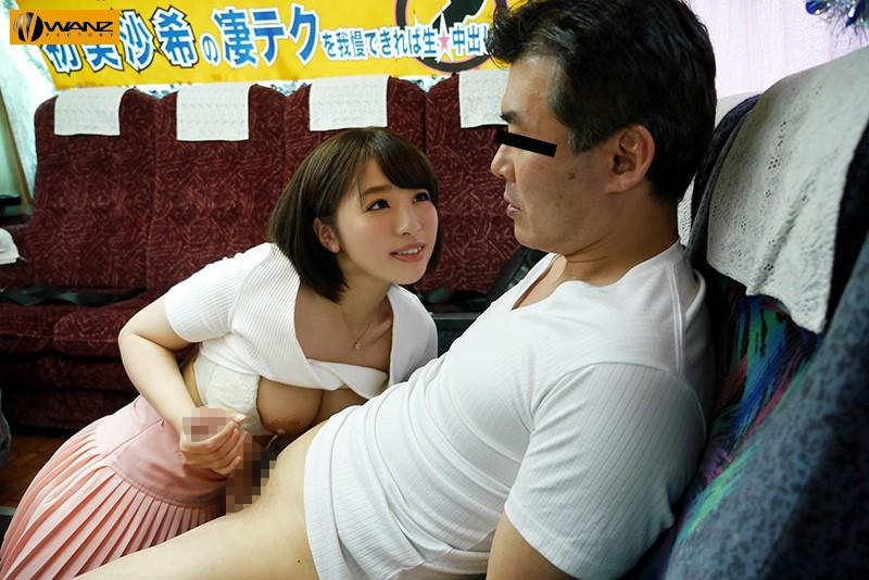 【エロ動画】巨乳の痴女、初美沙希の凄テク乳首舐め手コキプレイエロ動画。