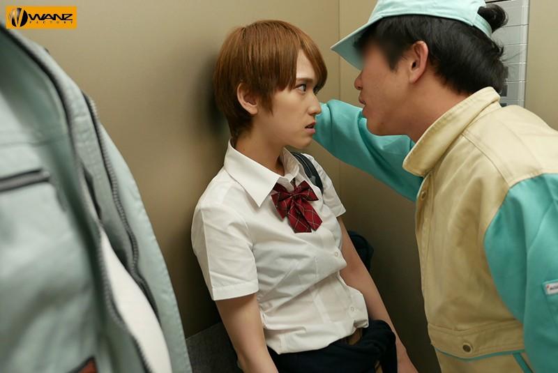 エレベーター緊急停止で密室パニック ナマイキ女にムカつき汗だくレ×プ輪姦 椎名そら 1枚目
