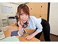 【VR】圧倒的なボキャブラリー淫語と尻にぴったりタイトスーツでオフィス内SEXを求めてくる誘惑女上司VR 波多野結衣