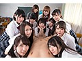 【VR】チ○ポビンビンCFNM学園VR 今年から共学になった女子校...sample12