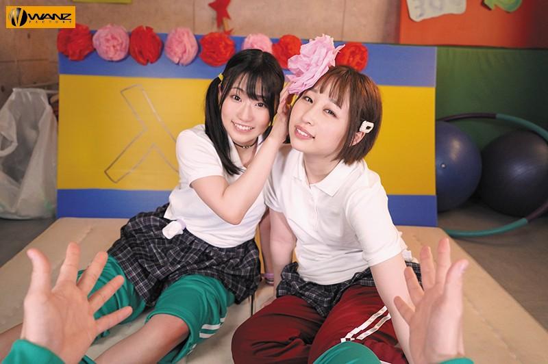 【VR】どっちとエッチしたい!? 超学園天国ハーレム3PVR 文化祭の準備中に女のコから同時に告白!!どっちか選べないボクはその場で両方ハメハメ