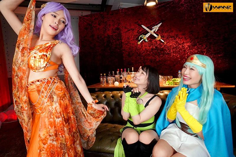 【VR】勇者(ボク)以外は全員女&巨乳!ハーレムパーティーで中出しクエストVR!!
