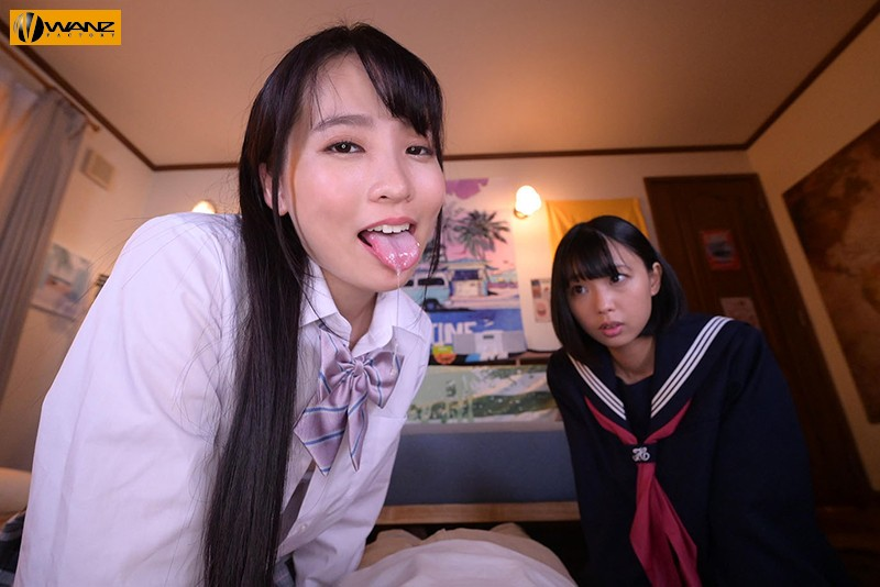 【VR】ねぇねぇ、この子買ってよ!! 友達を売りに来た円光斡旋J子36